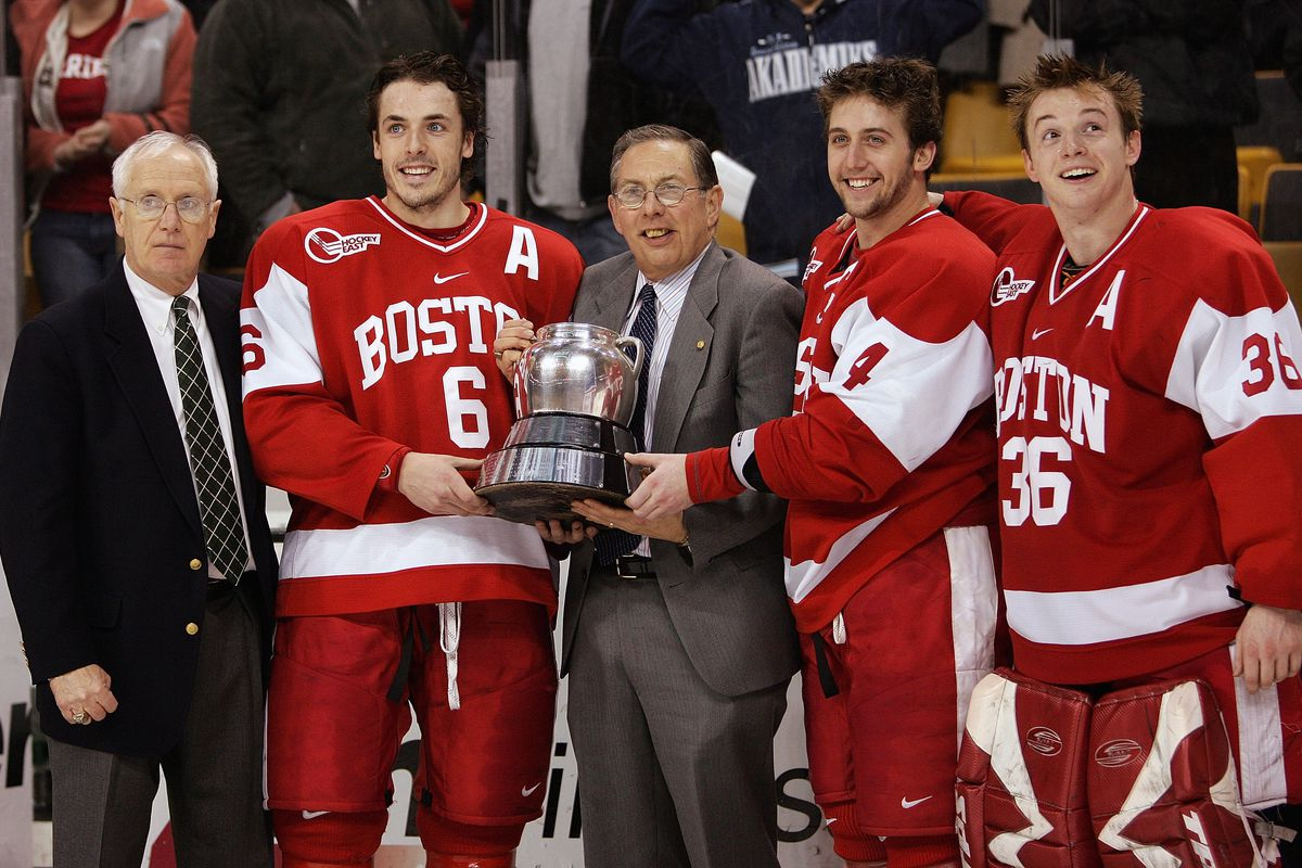 Boston University won the 2007 Beanpot.