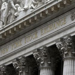 This is the facade of the New York Stock Exchange.