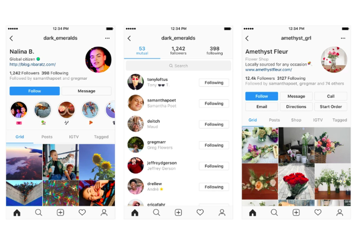 Instagrams New Profile Designs Emphasize Users Instead Of