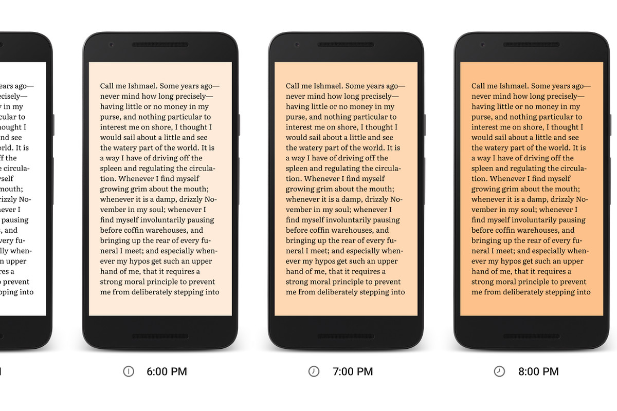 Google Play Books adds a nighttime reading mode that's