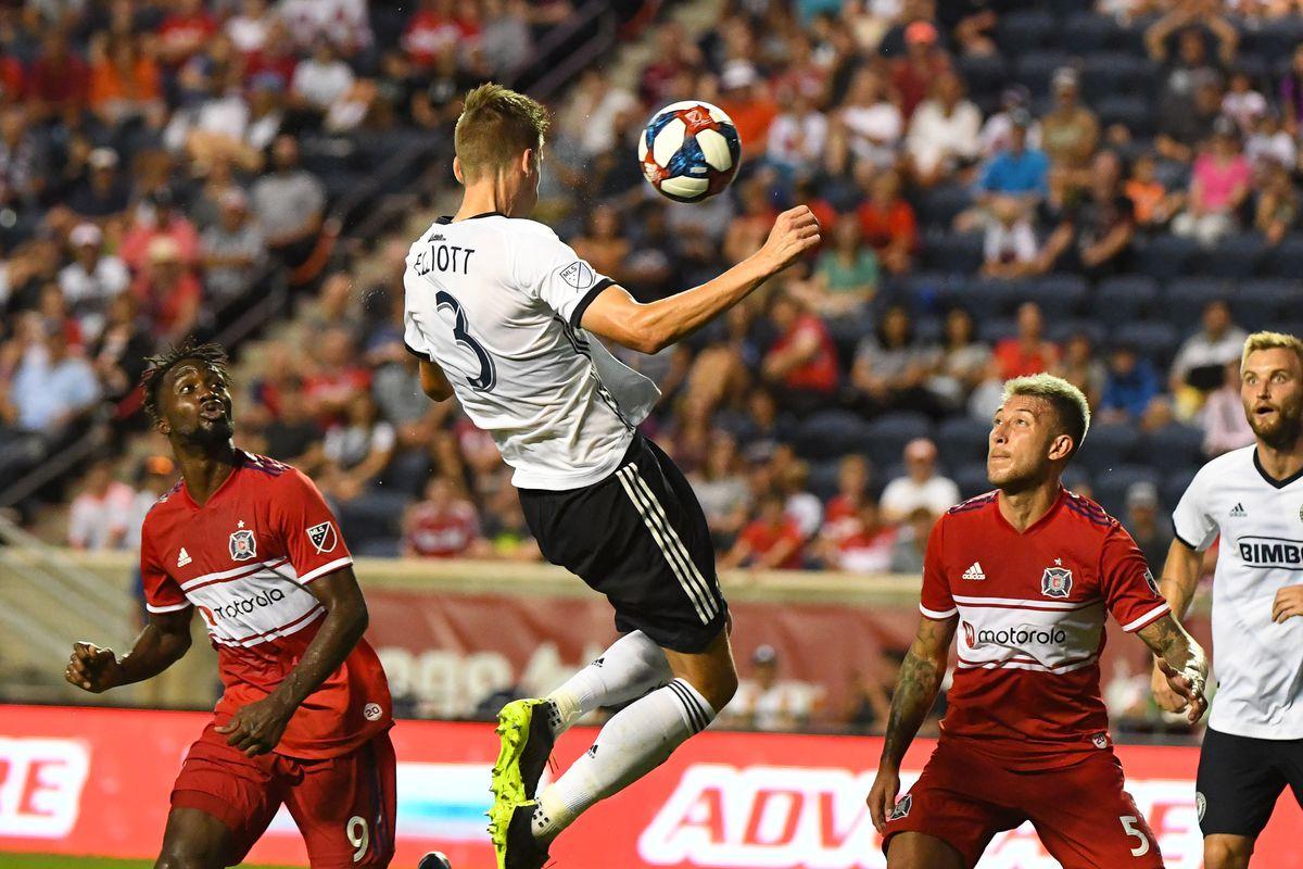 MLS: Philadelphia Union at Chicago Fire