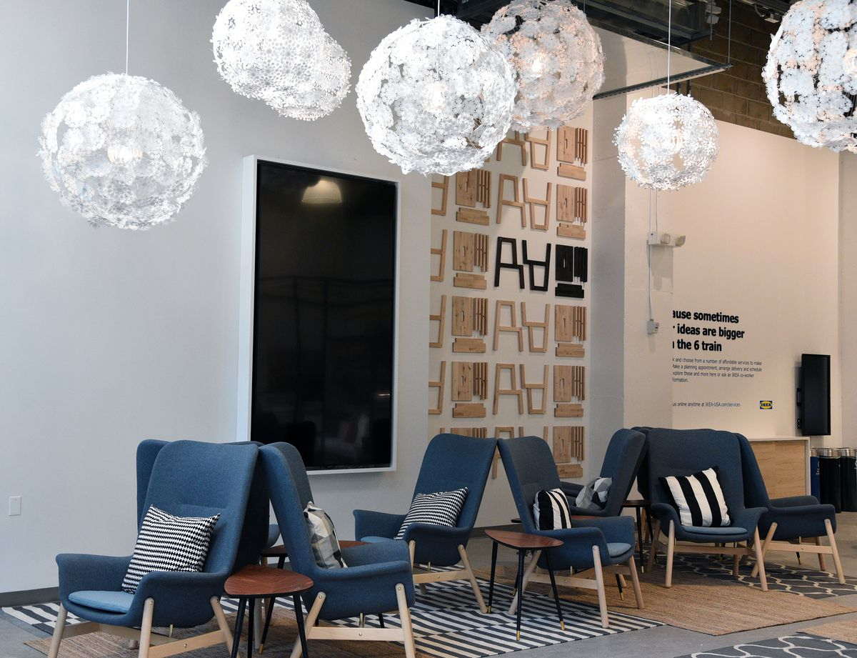 Photos: Inside Ikea\'s new Manhattan store in New York City ...