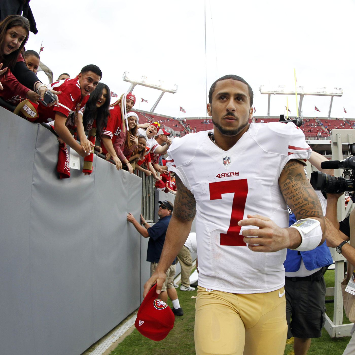 promo code 0590c e2b3d Colin Kaepernick talks about growing up a Packers fan as ...