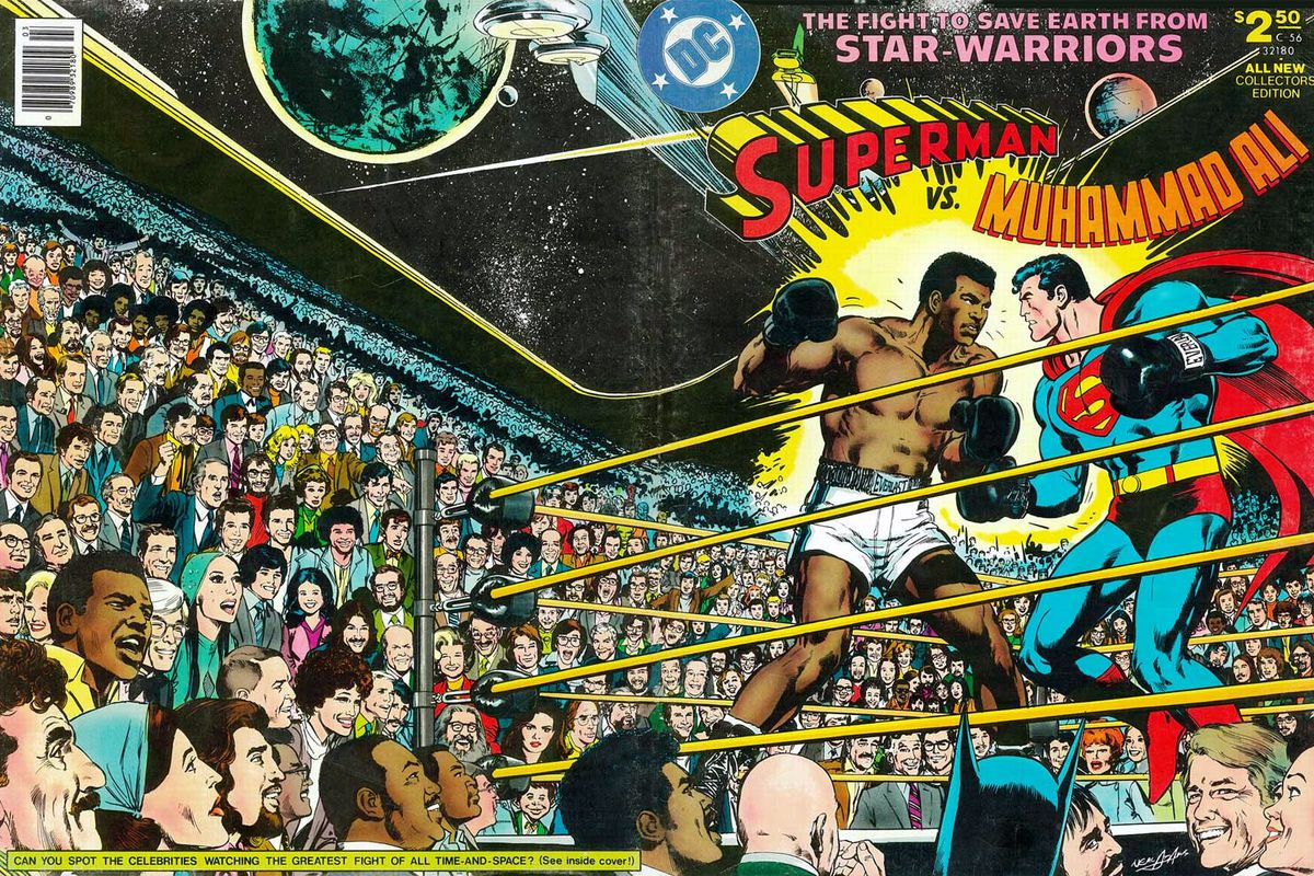 Muhammad ali against superman