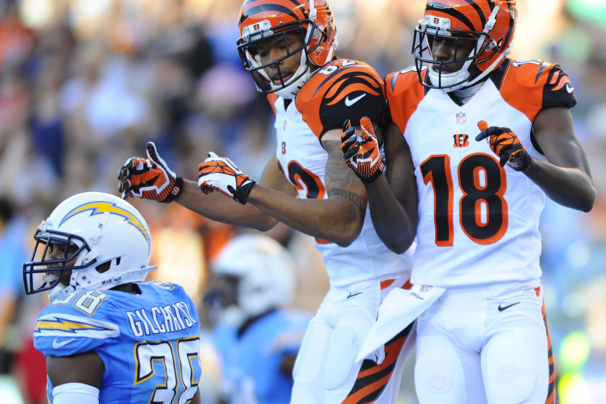 Bengals Wr Depth Chart Features Many Unknowns