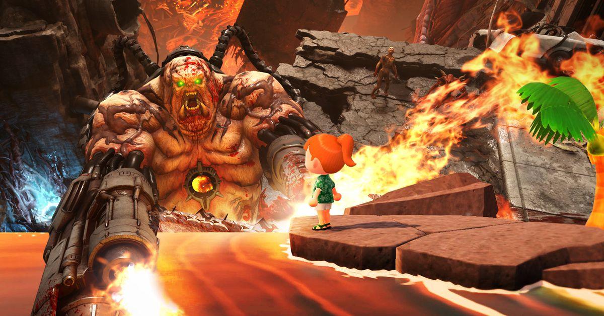 في وقت رهيب ، يمكن أن تساعد ألعاب مثل Animal Crossing و Doom Eternal 1