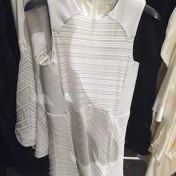 White Basha dress, $185