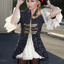 Real Housewives of Beverly Hills star Camille Grammer went as a sexy pirate. Or maybe a regular pirate who happens to be sexy.