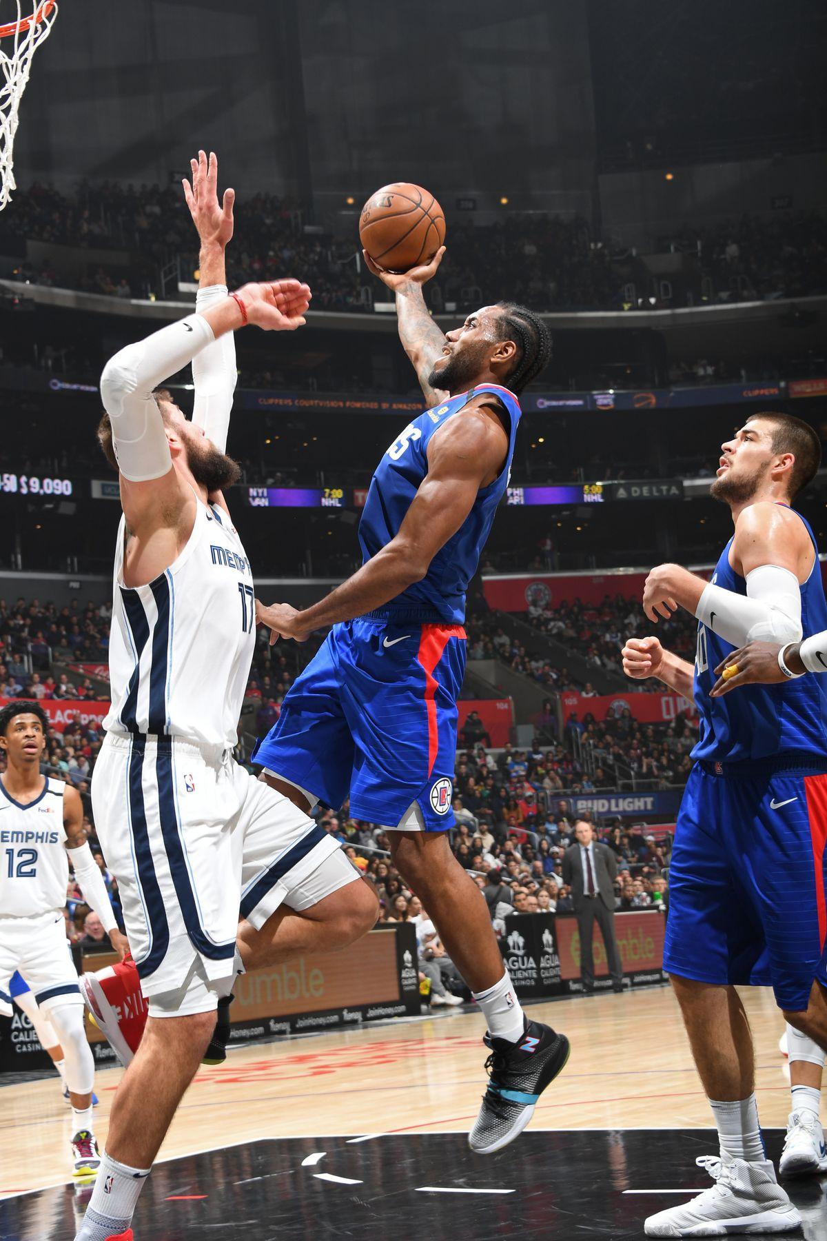 Memphis Grizzlies v LA Clippers