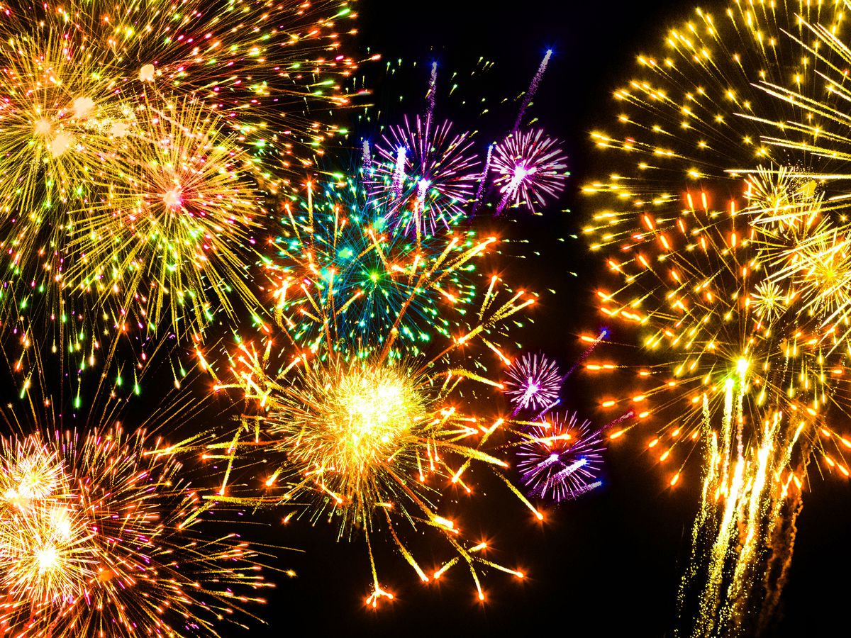 Watch Australia's Massive Fireworks Display