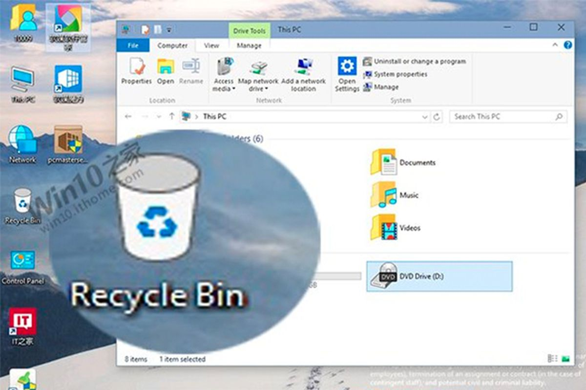 microsoft should trash its new windows 10 recycle bin