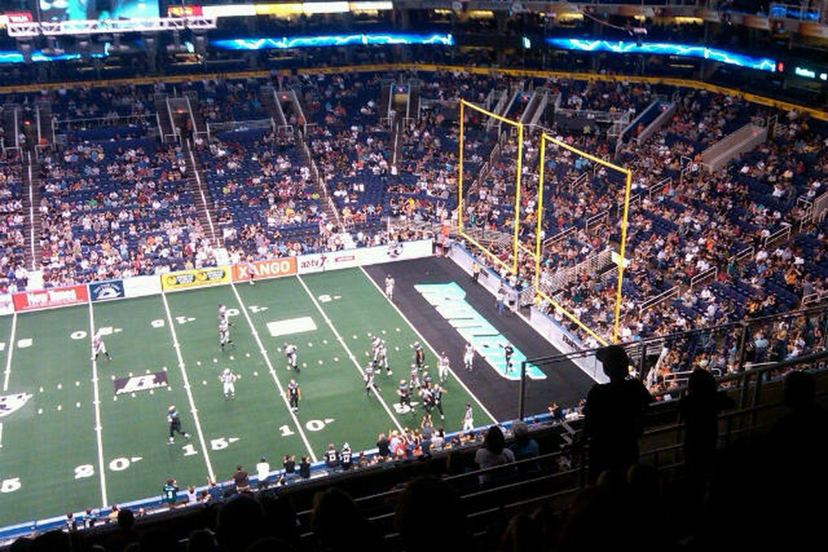 View from the cheap seats.  Photo by Scott Howard Industries