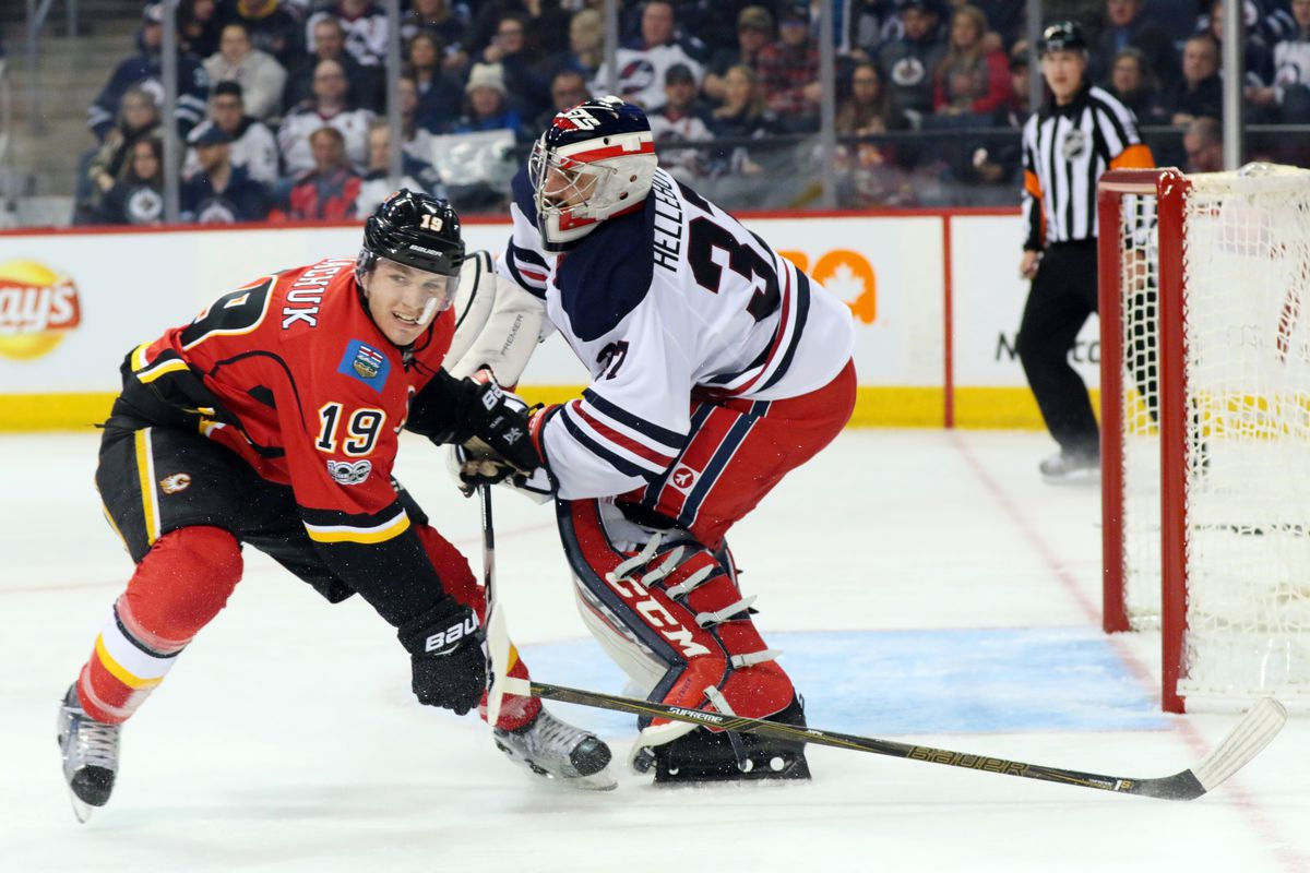 Expect more battles between Tkachuk and Hellebuyck tonight