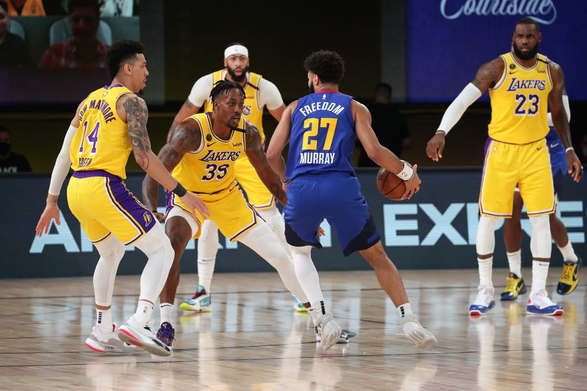 Lakers Vs Nuggets Final Score L A Destroys Denver To Take 1 0 Lead Silver Screen And Roll