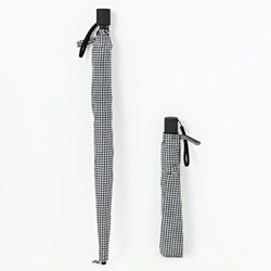 "<strong>Muji</strong> 2 Ways Foldable Umbrella, <a href=""http://www.muji.us/store/accessories/rain/2-ways-foldable-umbrella.html"">$27.50</a>"