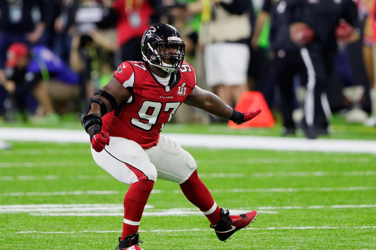 Falcons post draft roster review defensive line the falcoholic photo by jamie squiregetty images geenschuldenfo Choice Image
