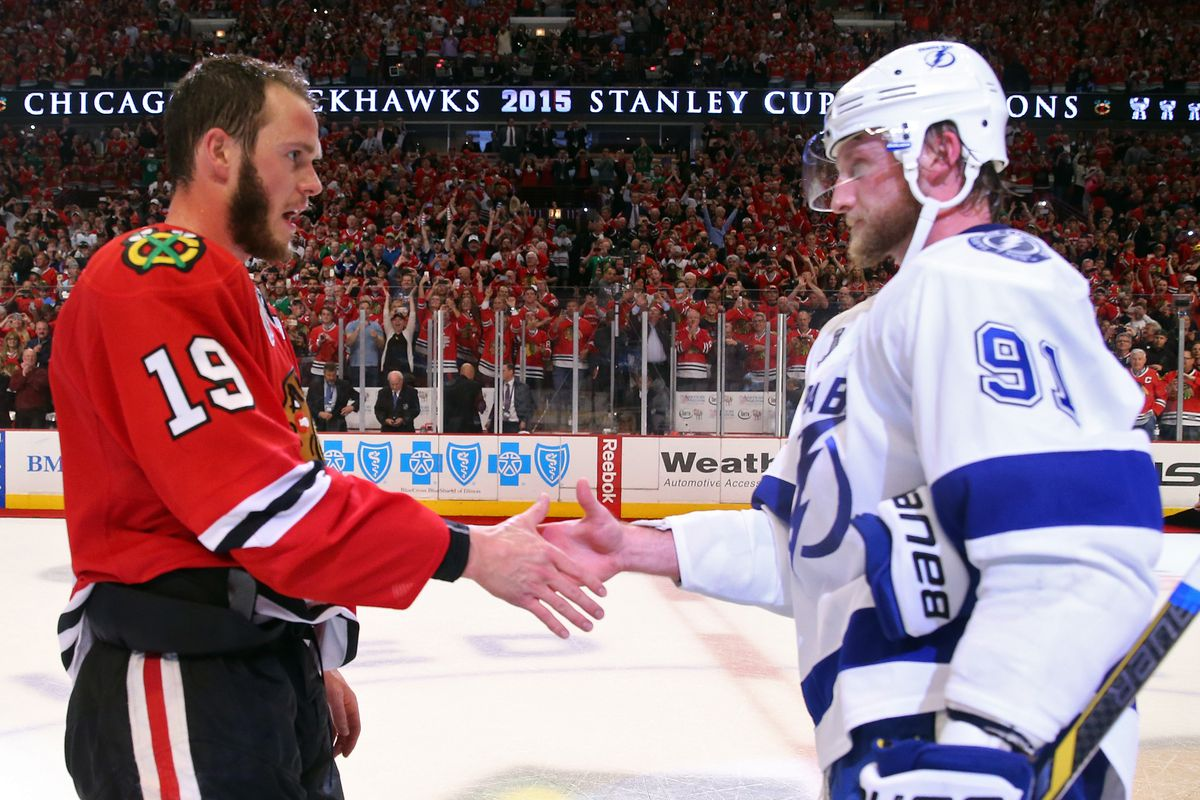 Though we did not include specific writing from the 2015 Stanley Cup Finals, a link to 2015 playoff coverage is included.. As is plenty of Steven Stamkos writing.