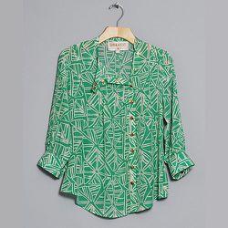 """<strong>Lauren Moffatt</strong> Seaweed Pintuck Top, <a href=""""http://www.conifershop.com/shop/lauren-moffatt-seaweed-pintuck-top"""">$279</a> at Conifer"""