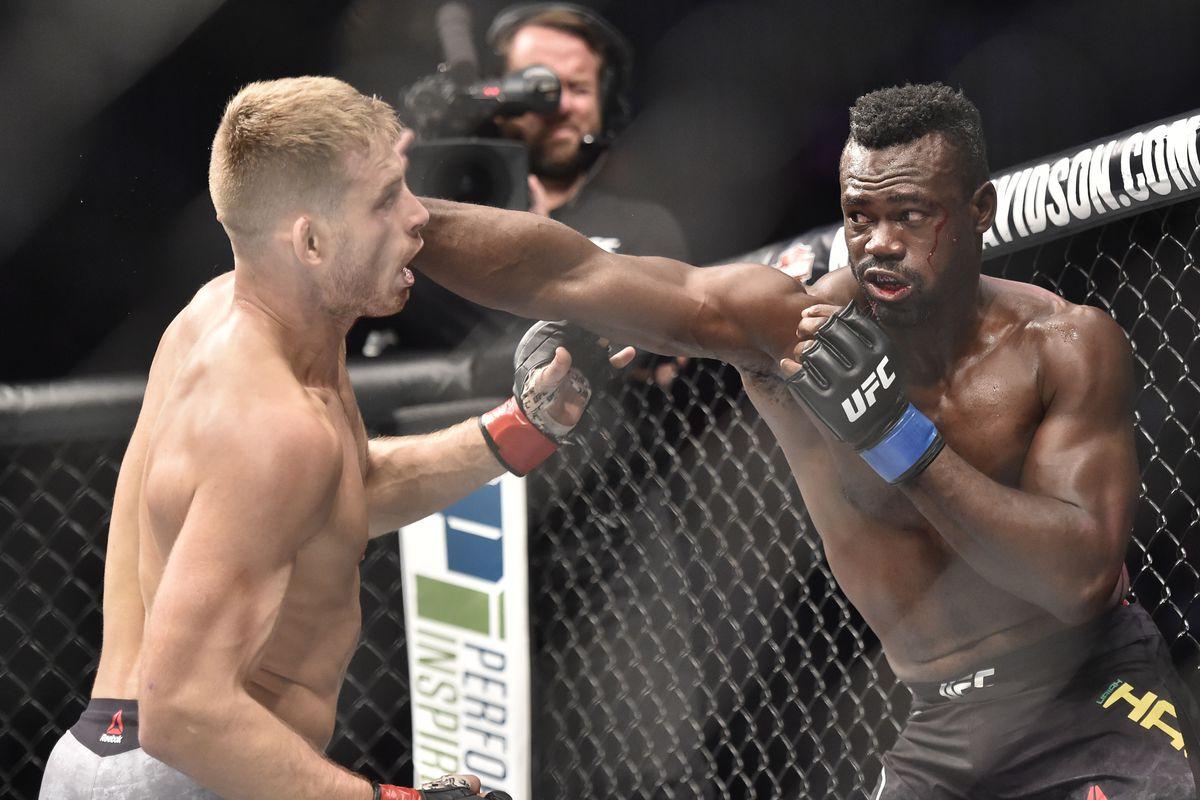 MMA: UFC Fight Night-Pittsburgh- Jotko vs Hall