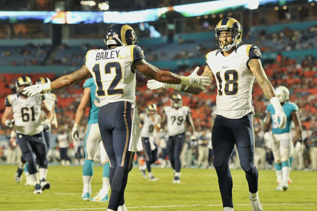 Are Austin Pettis' days with the Rams numbered? - Turf Show Times
