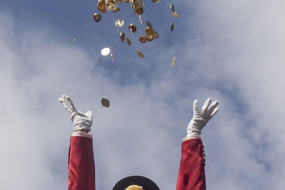 Activists Protest Gap Between Rich And Poor