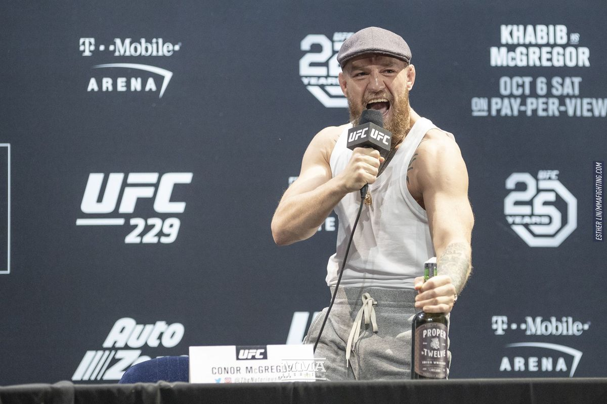 f7ac555061b Morning Report  Conor McGregor says he is in negotiations with the ...
