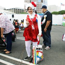 Attendee Brandee Amore handmade her entire costume.