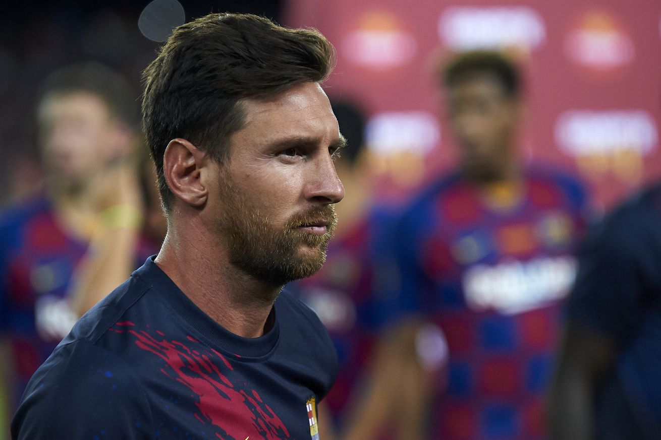 Messi out of Barcelona?s trip to Athletic