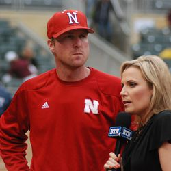 Erstad with that western cowboy look of his