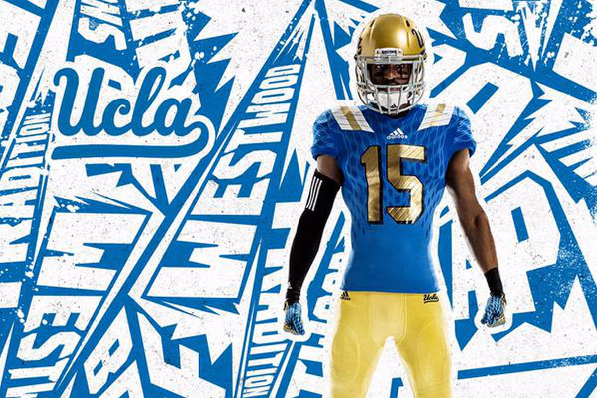 the best attitude b9c45 f7b33 UCLA Football, Adidas Unveil New Home Uniforms That Fall ...