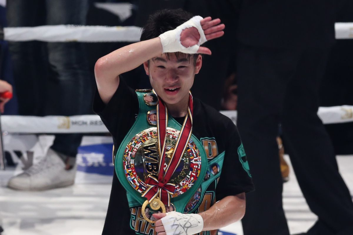 Kenshiro Teraji v Jonathan Taconing - WBC Light Flyweight Title Bout
