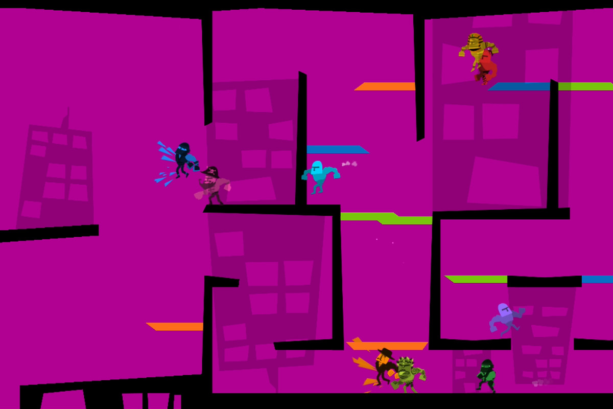 Line Drawing Game Multiplayer : Local multiplayer achieves peak madness in runbow a player