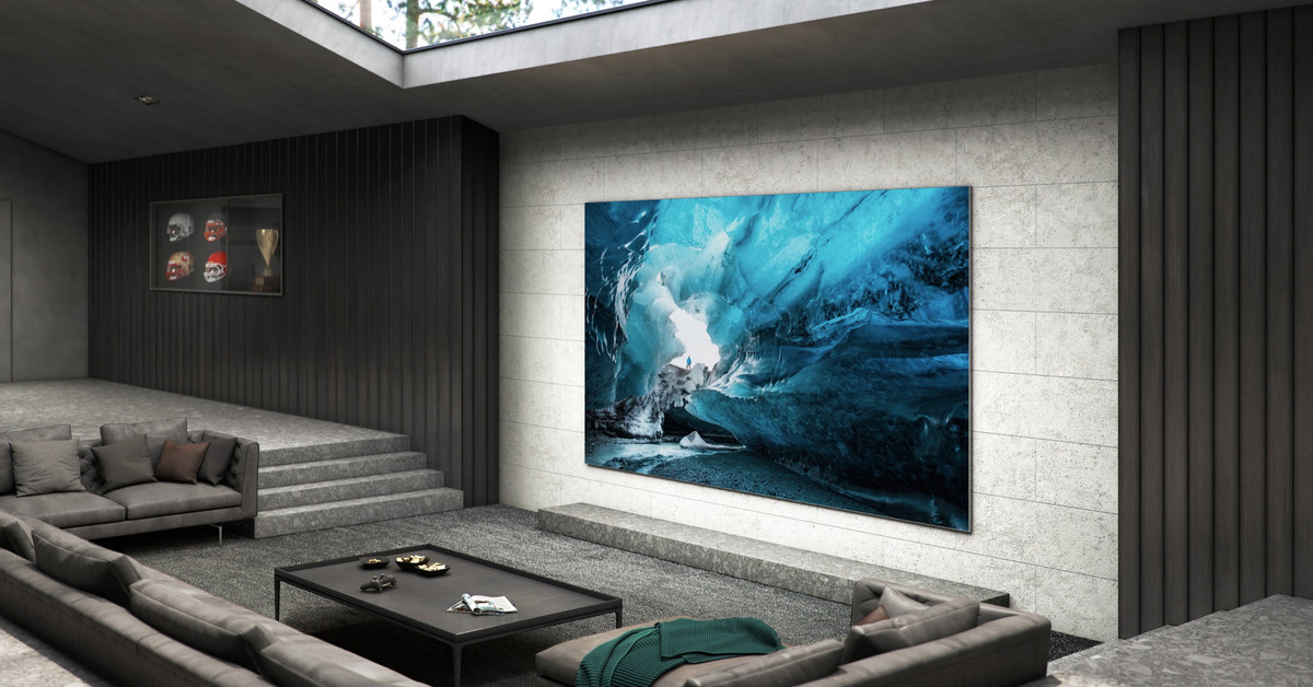 Samsung announces massive 110-inch 4K TV with next-gen MicroLED picture quality thumbnail
