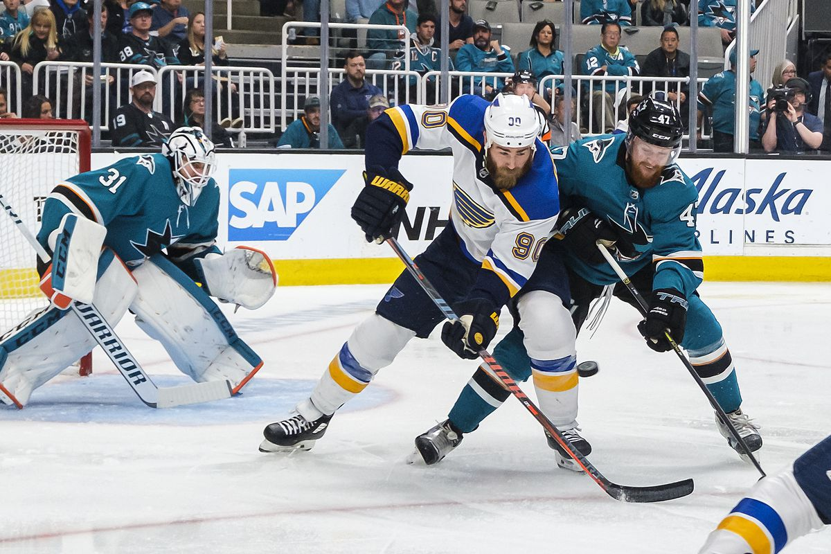 NHL: MAY 19 Stanley Cup Playoffs Western Conference Final - Blues at Sharks