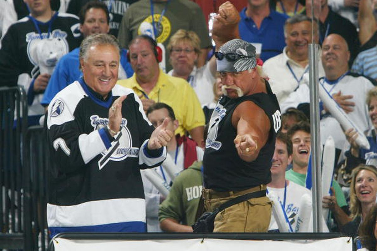 Phil Esposito, shown here on May 25th, 2004, will be honored with a bronze bust outside the Tampa Bay Times Forum on December 31st, 2011. (Photo by Dave Sandford/Getty Images)