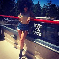 "Lady Gaga in Tahoe. Images via <a href=""http://instagram.com/ladygaga"">Instagram</a>."
