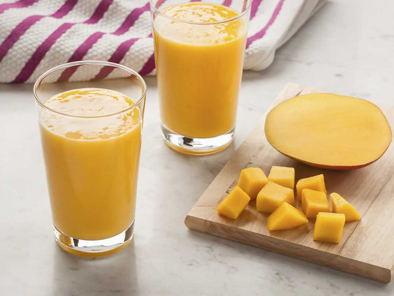 Menu planner: Mango and banana smoothie makes an ideal dessert