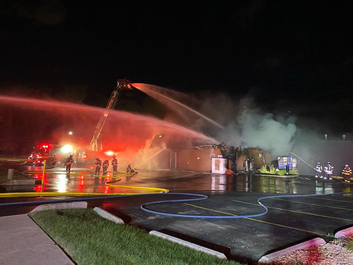 Don't Hot Dogs in Orland Park was destroyed by a fire July 28, 2020.
