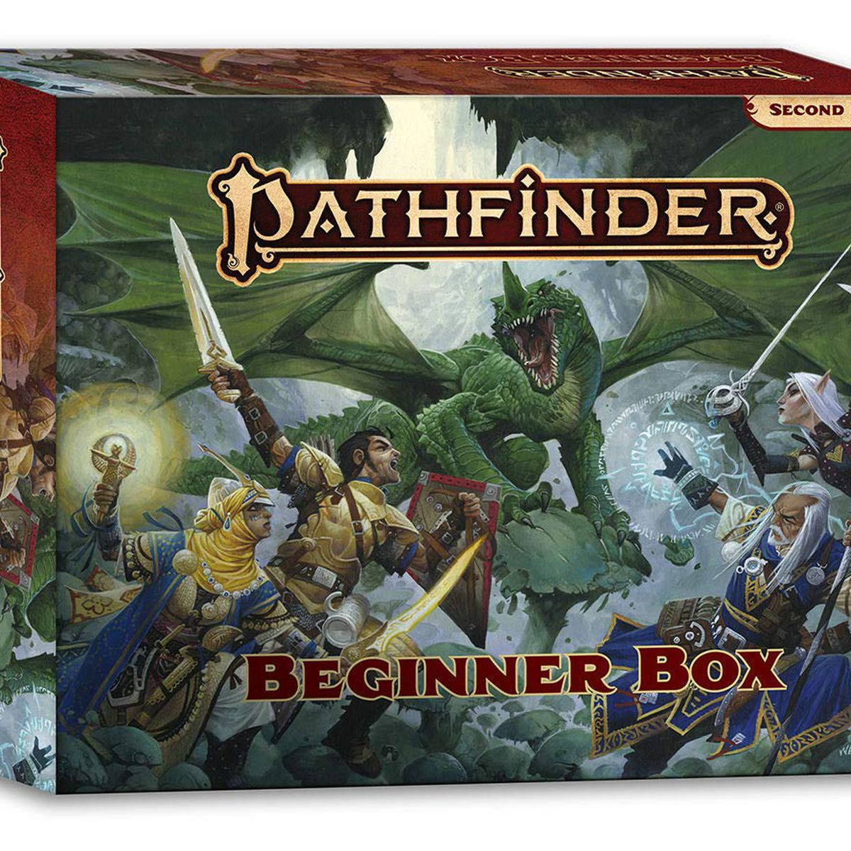 Pathfinder's new Beginner Box is designed for players with zero experience
