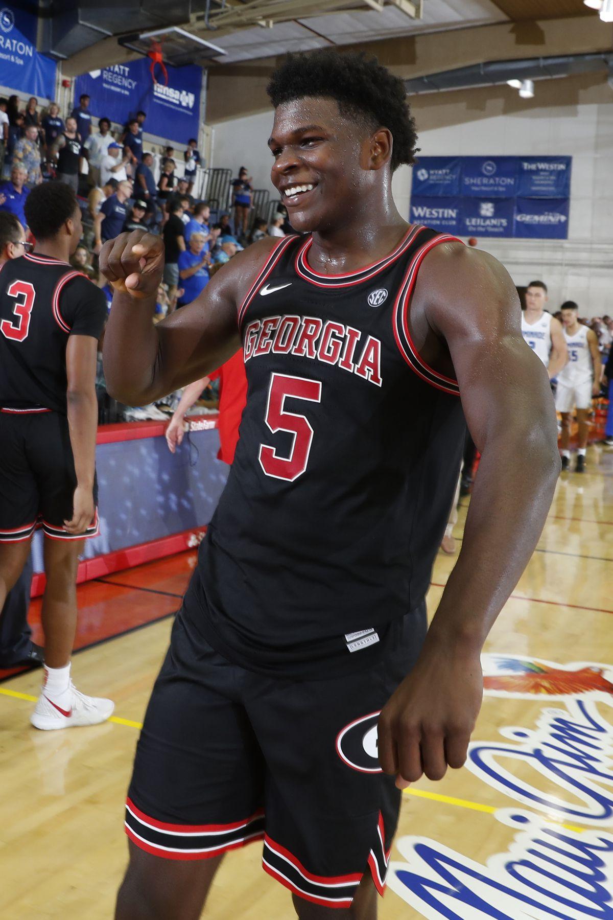 NCAA Basketball: Georgia at Chaminade