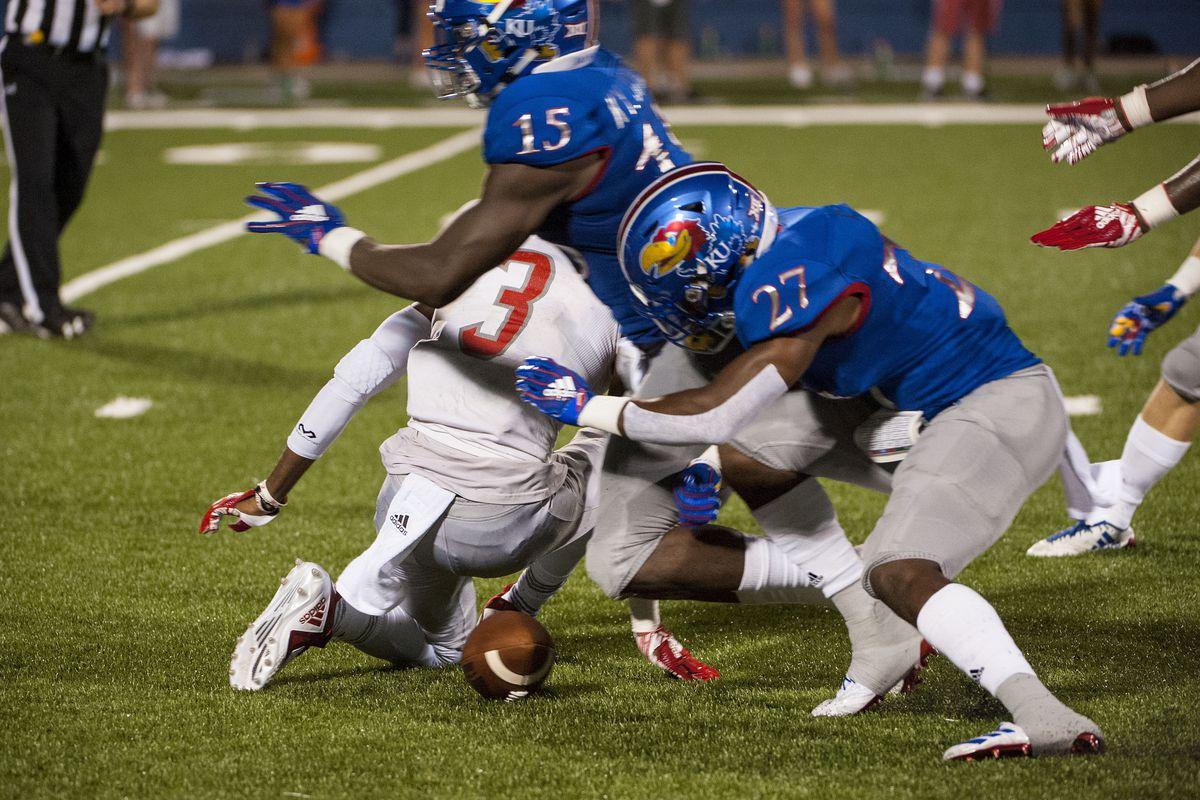 NCAA Football: Nicholls State at Kansas