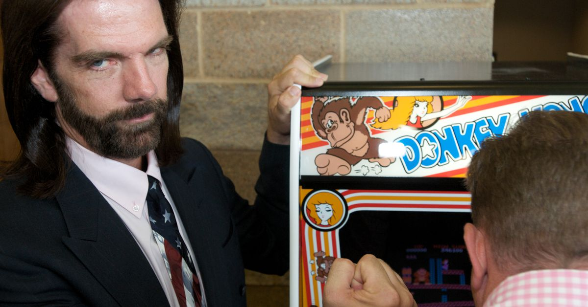 Billy Mitchell, the 'King of Kong', has scores thrown out by Twin Galaxies