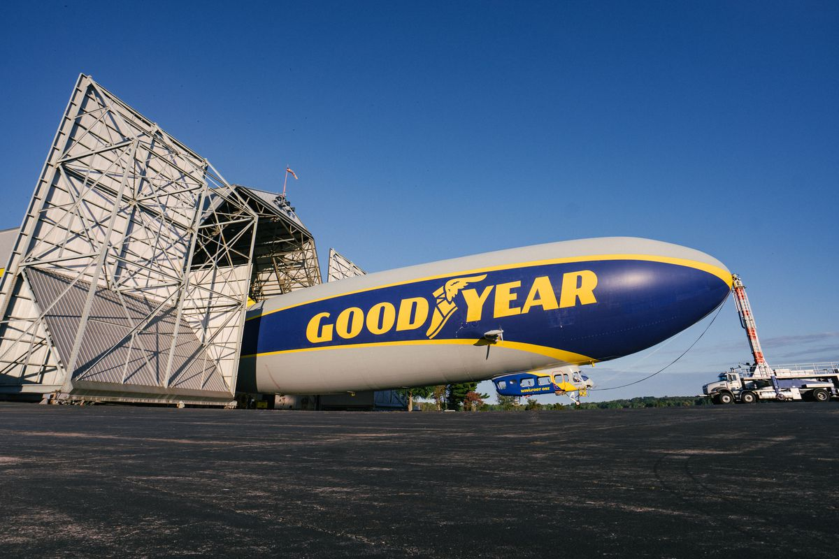 Goodyear Blimp to be listed on Airbnb for Michigan vs. Notre Dame