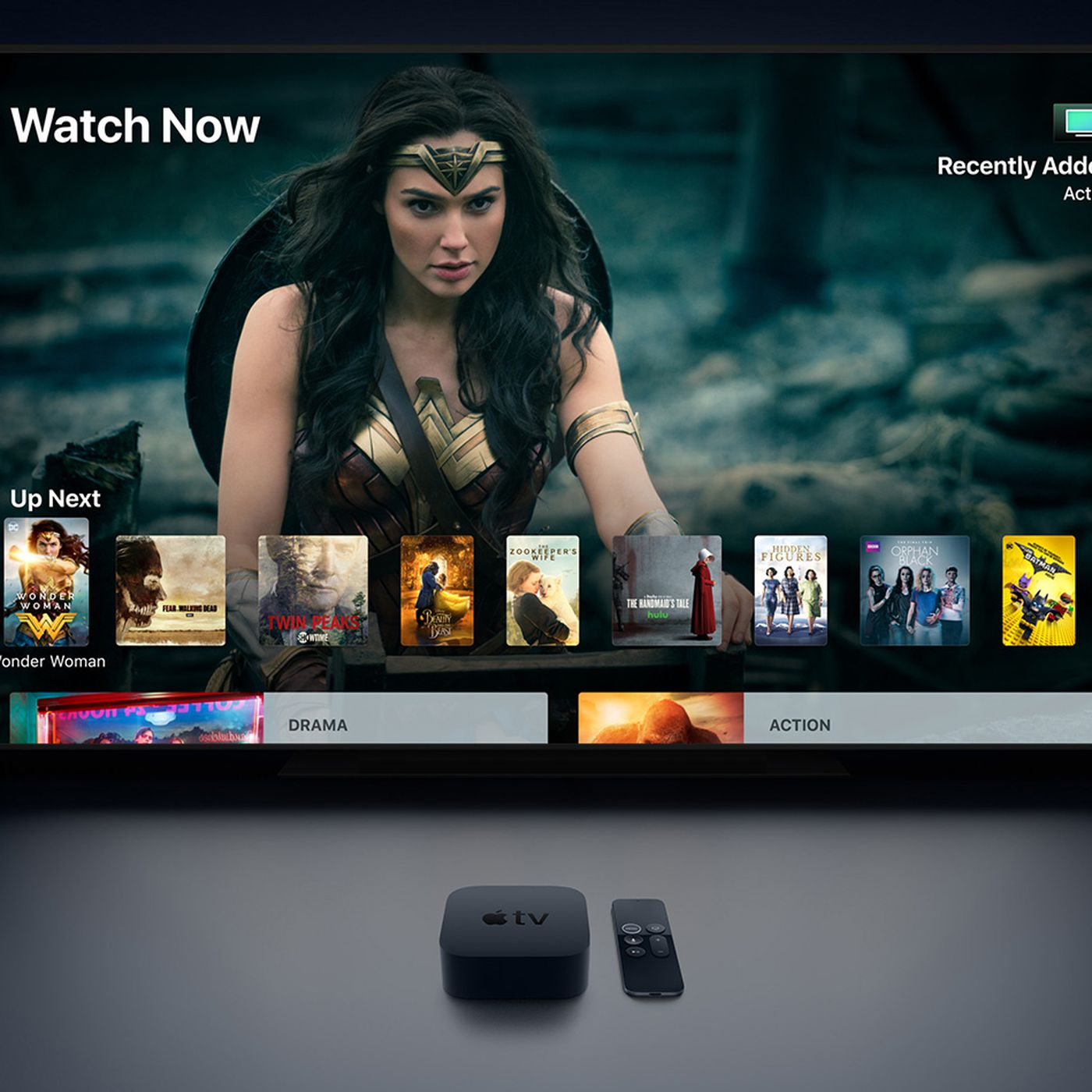 Apple TV's universal search expands to include Oxygen and BBC