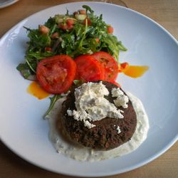 """Falafel Dish from Market Table by <a href=""""http://www.flickr.com/photos/chrisgold/8263693248/in/pool-eater/"""">ChrisGoldNY</a>"""
