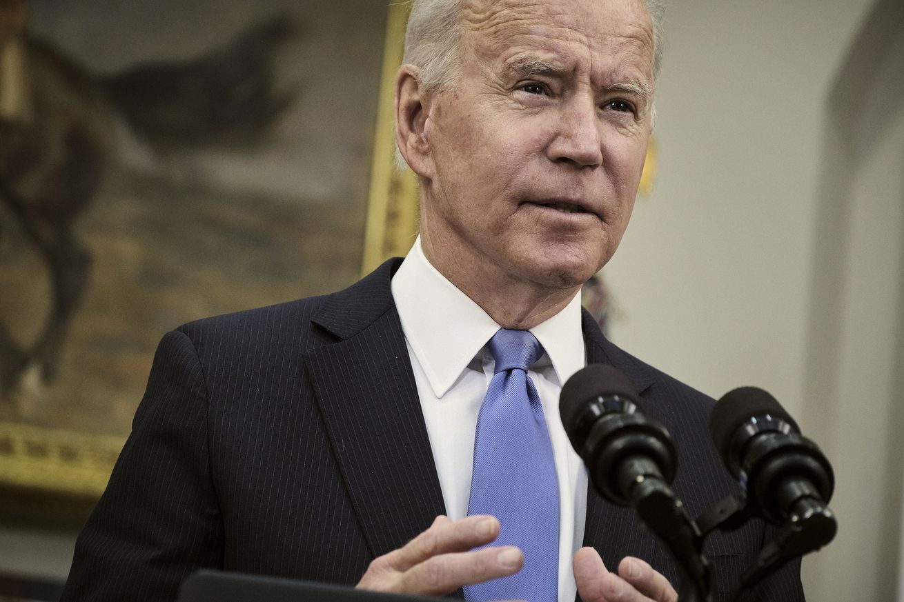 President Biden Delivers Remarks On Colonial Pipeline Hack