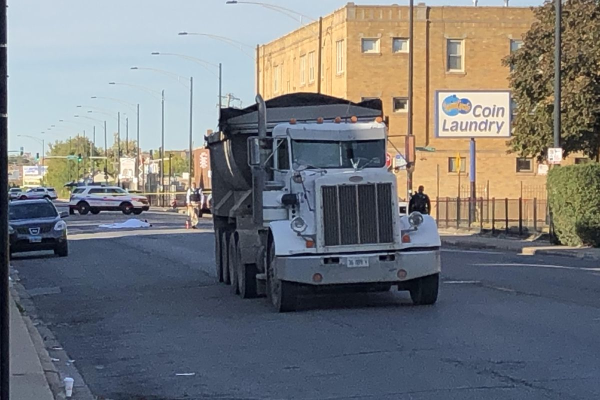 Person struck, killed by semi in Hermosa
