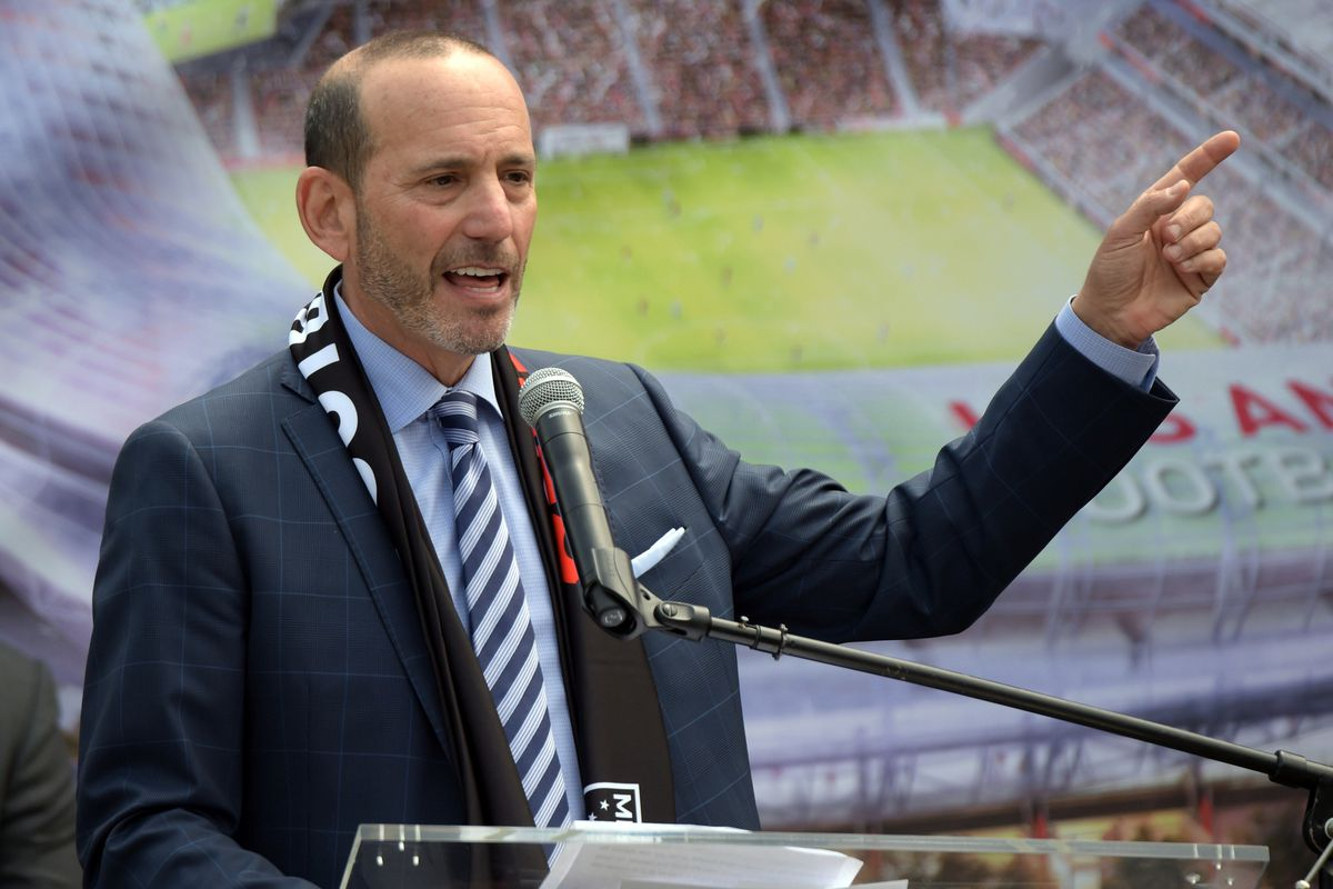 I wonder if Commissioner Garber got a delivery just as he was speaking...