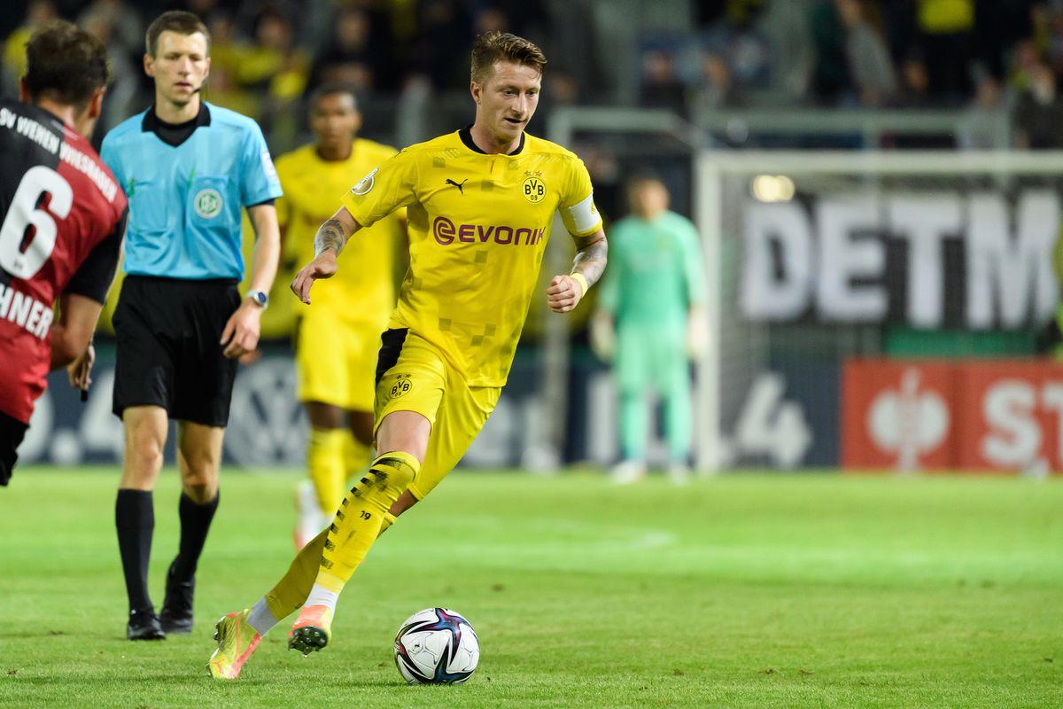 SV Wehen Wiesbaden v Borussia Dortmund - DFB Cup - First Round