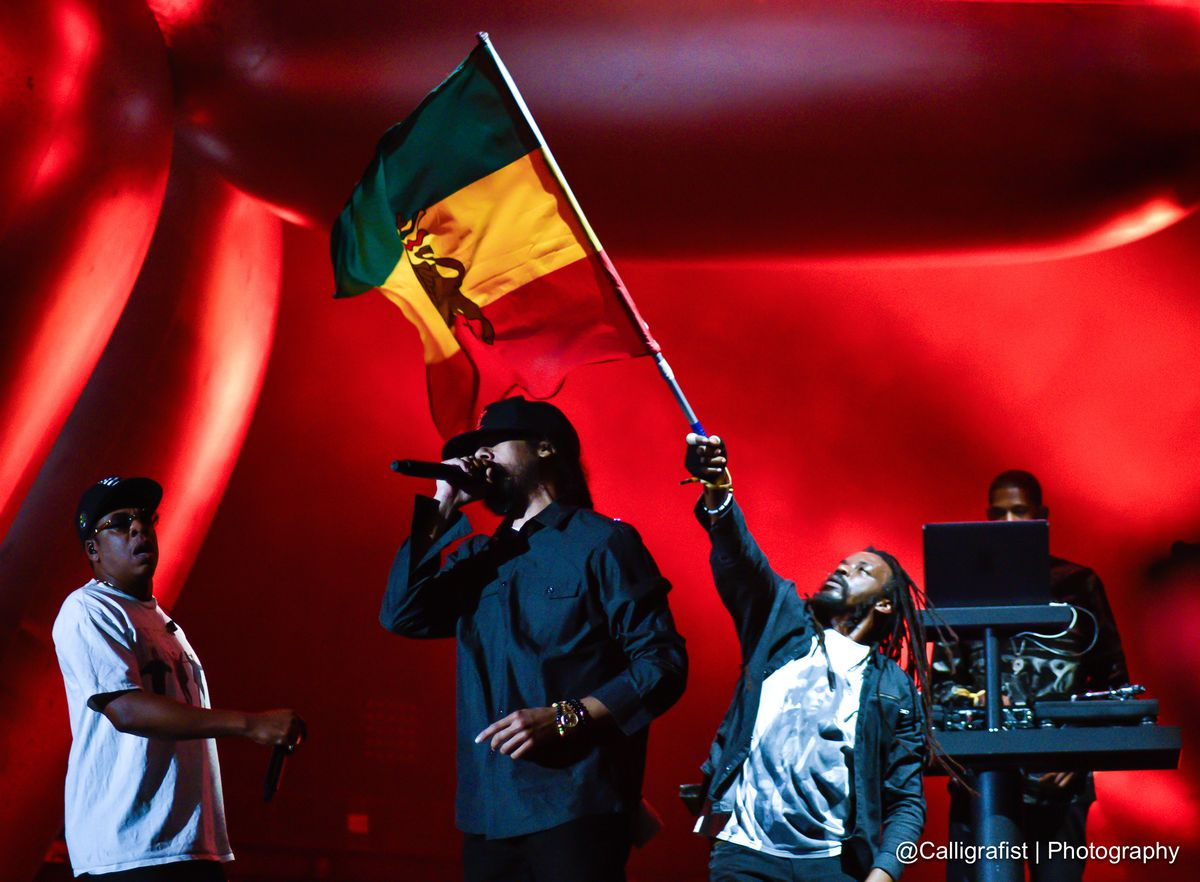 JAY-Z and Damien Marley